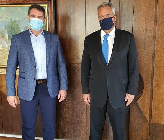 Δήμαρχος Χερσονήσου: Συνάντηση με Υπουργό Εσωτερικών και Τουρισμού
