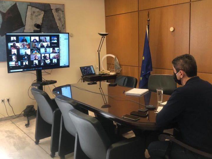 Συνάντηση Υφ. Αθλητισμού Λ. Αυγενάκη με τους ιδιοκτήτες γυμναστηρίων του νομού Ηρακλείου