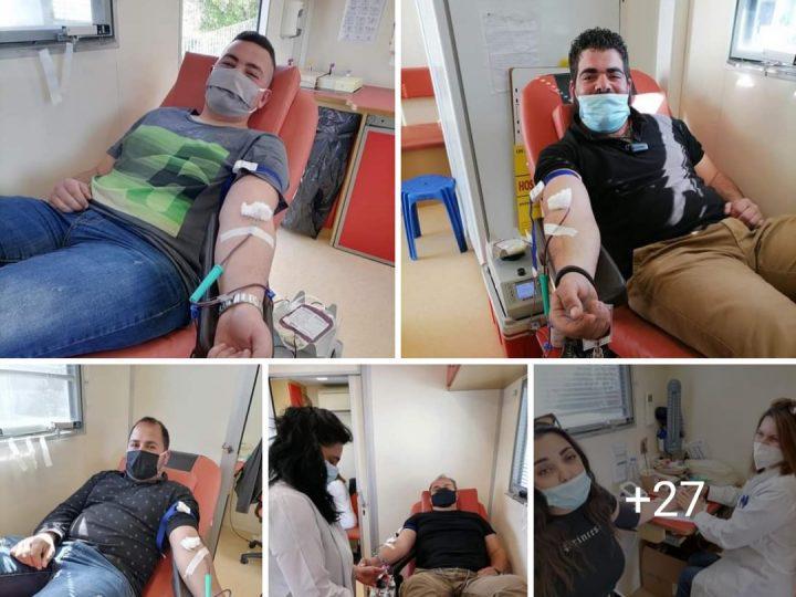 Μεσοχωριό: 26 φιάλες αίμα στην 14η εθελοντική αιμοδοσία