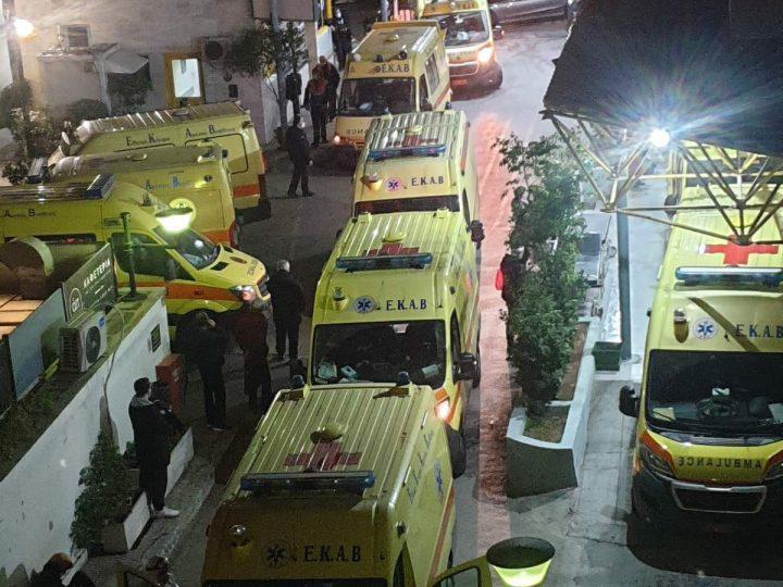 Νοσοκομείο Ευαγγελισμός: Η εικόνα το βράδυ της Κυριακής που κόβει την ανάσα