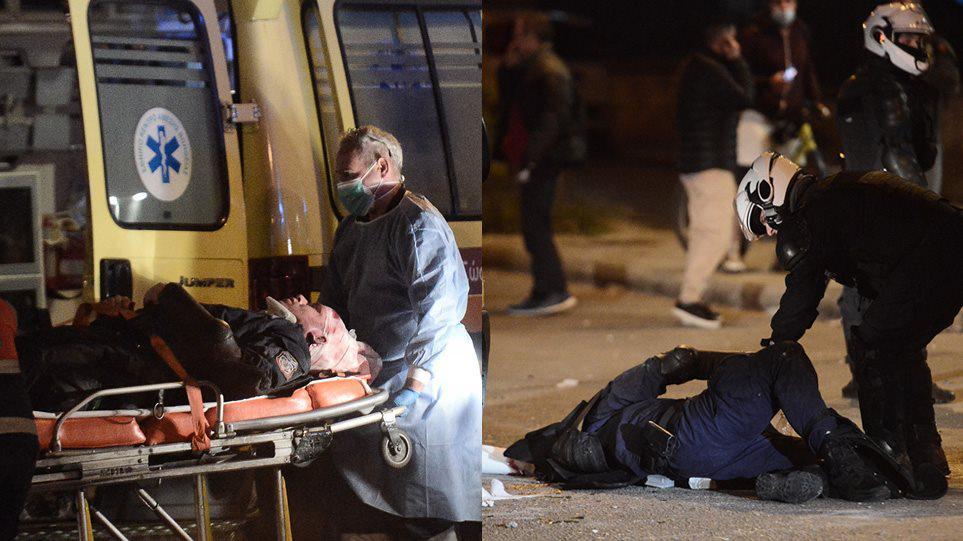 Πρωτοφανούς βίας η επίθεση στον νεαρό αστυνομικό στη Νέα Σμύρνη