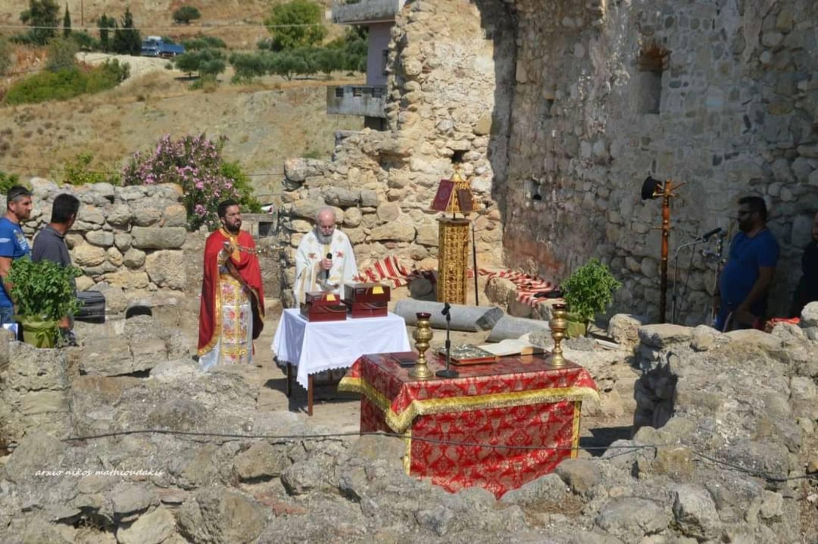 Εορτή της Αγίας Τριάδος στην Λιγόρτυνο (φωτογραφίες)