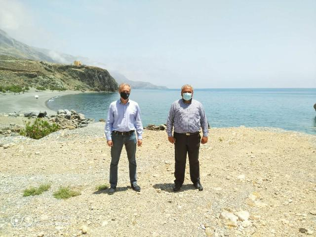 Ο Δήμος Αρχανών Αστερουσίων, ωριμάζει το σχέδιο για την  κατασκευή  αλιευτικού καταφυγίου στις Τρείς Εκκλησιές
