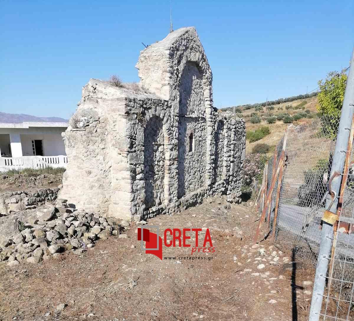 Θεία Λειτουργία στην Αγία Τριάδα Λιγορτύνου (Αρχαιολογικό Μνημείο)