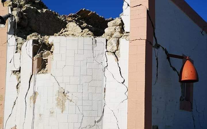 Αρκαλοχώρι:Γκρεμίστηκε η εκκλησία του Προφήτη Ηλία και πλάκωσε ένα μάστορα