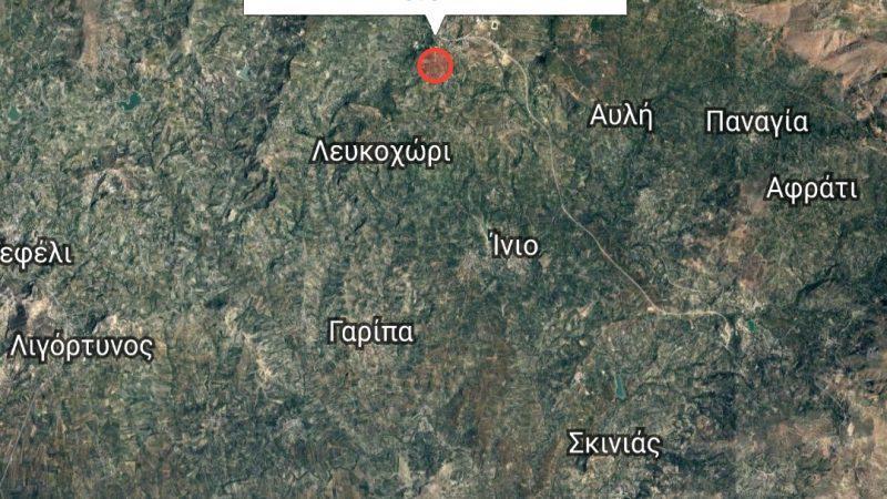 Ισχυρή σεισμική δόνηση στο Ηράκλειο!